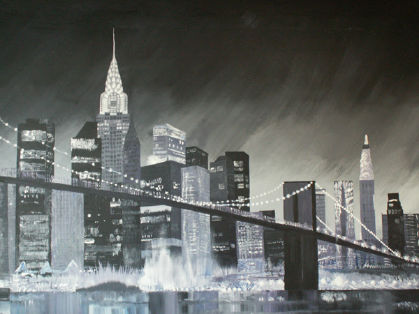 New York Wall Painting