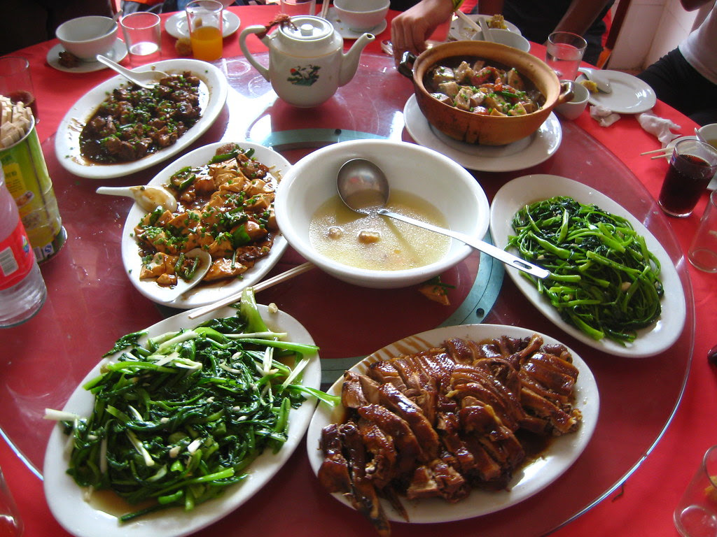 A Chinese Village Feast