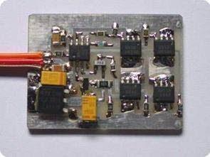 PIC12F629 PWM cầu động cơ điều khiển tốc độ Bi điều khiển hướng