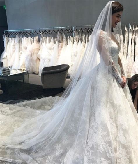 Monique Lhuillier Reveals Story Behind The Wedding Gown Of