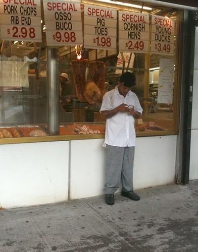 Butcher's shop, 9th Ave.