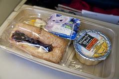 Breakfast, Delta Airline, Narita to San Francisco