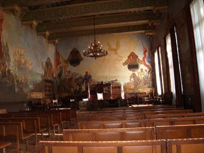 The Mural Room Santa Barbara County Courthouse Murals On