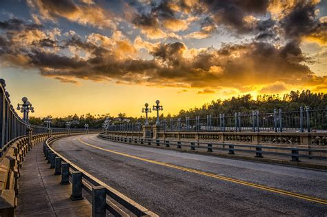 sunset  suicide bridge  markes world
