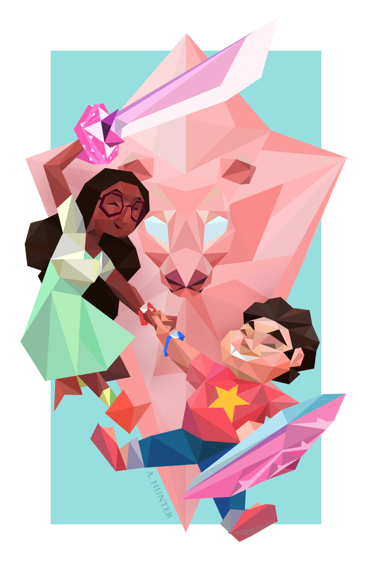 Steven and Connie are my children; I'm so proud of them. I completed this print for the 2016 Edmonton Comic and Entertainment Expo, and didn't have the opportunity to post it here until now....