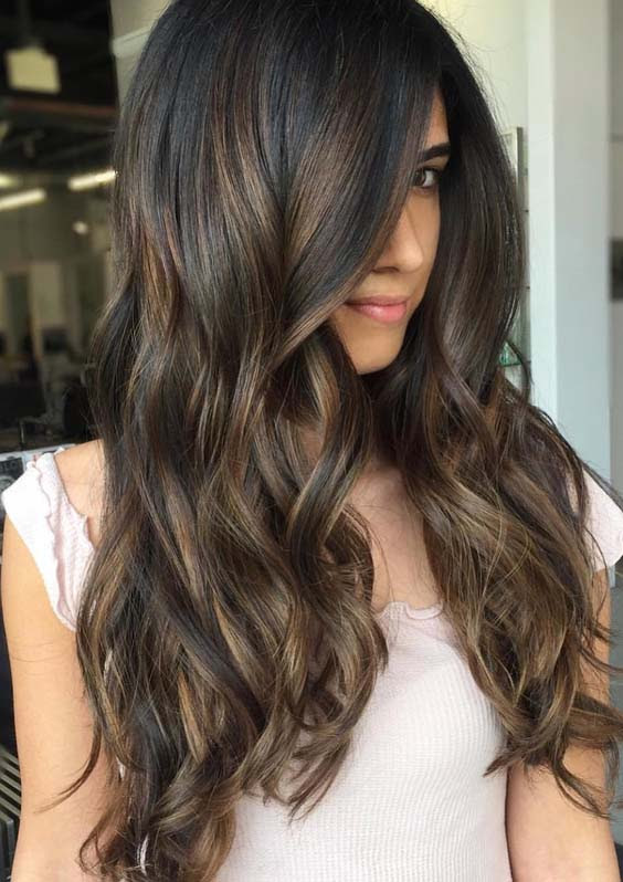 55 Hot Chocolate Brown Hair Color Ideas for Women 2018  Modeshack