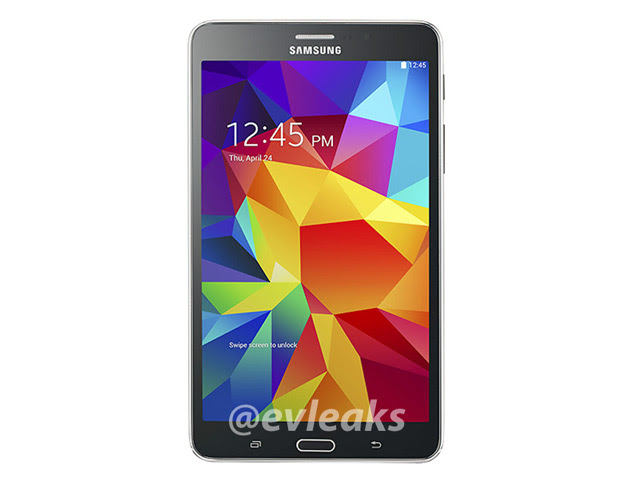 Leaked image of the Samsung Galaxy Tab 4 7.0