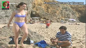 Fernanda Serrano sensual em vários momentos