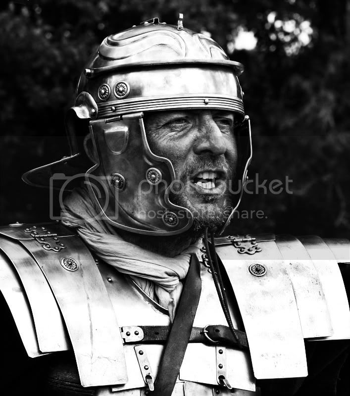 Roman Soldier B & W Pictures, Images and Photos
