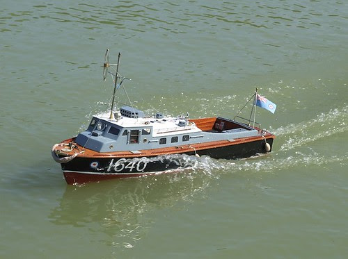 Rescue launch