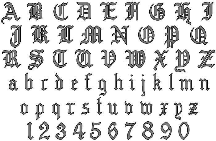 Tattoo Lettering | old_english_tattoo_lettering_generator_free.jpg ...