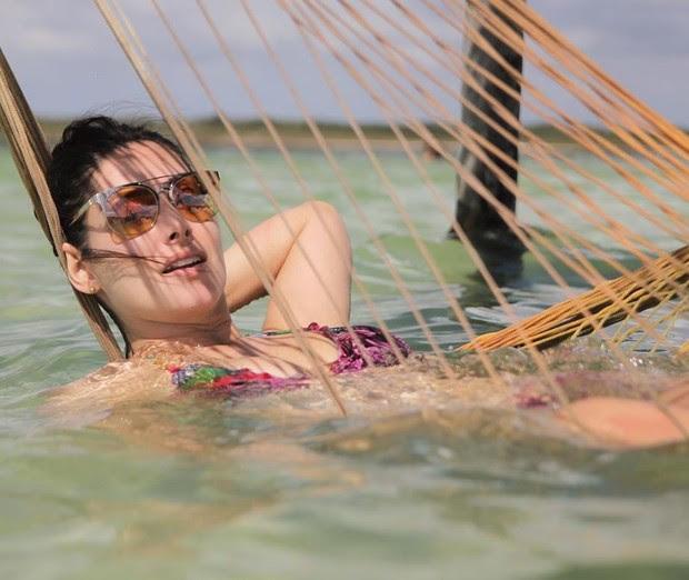 Francine Piaia está passando férias em Jericoacoara (Foto: Reprodução/Instagram)