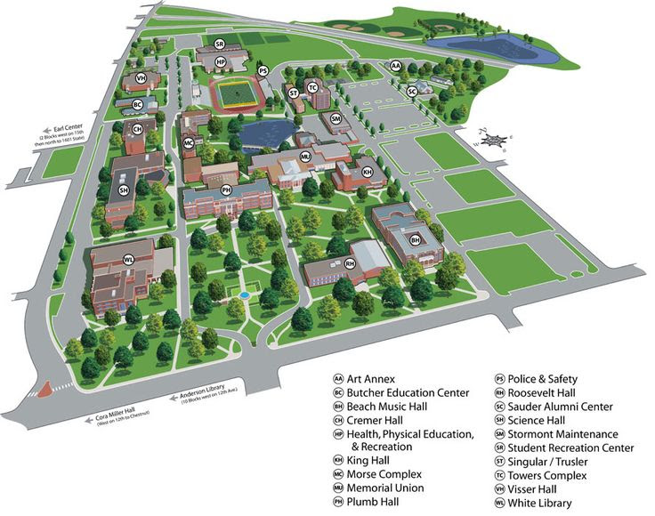 12 Best Images About Campus Maps On Pinterest