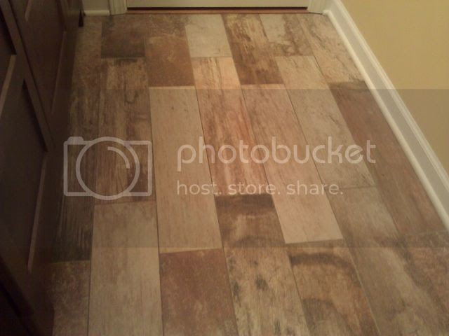 who loves their porcelain 'wood' floor tile? - Kitchens Forum ...
