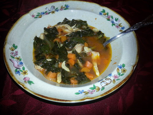 leftovers as soup!