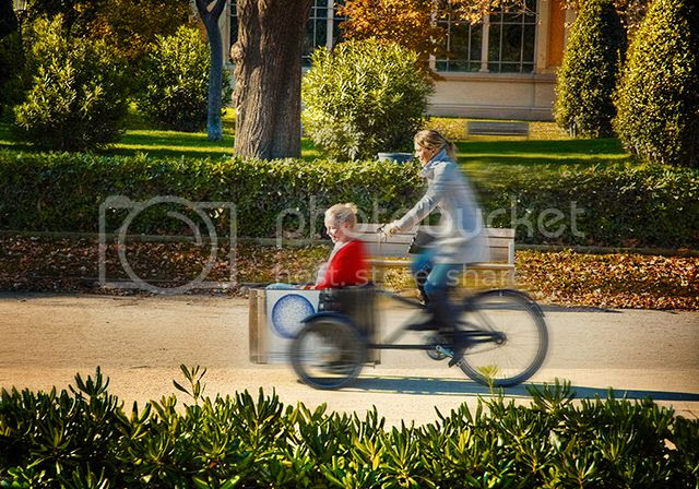 Ciutadella Parc: Tricycle Ride [enlarge]