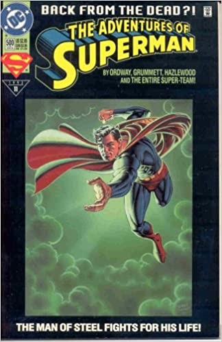 Superman Back From The Dead Comic Book Value