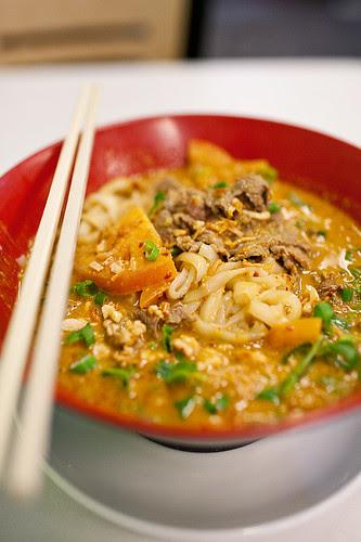 1st Choice Noodle House, Alhambra - Mi Sate Egg Noodles