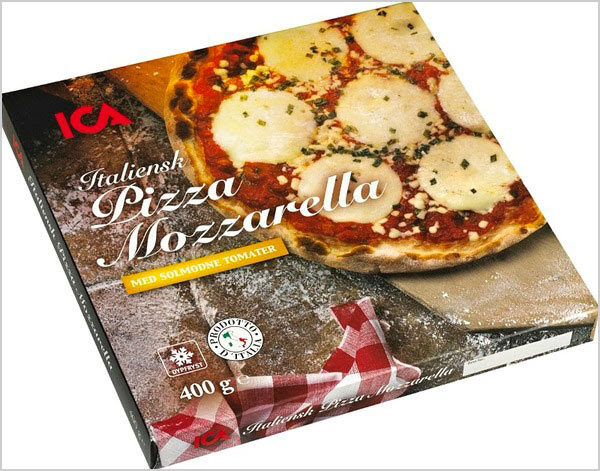 ICA Italian Packaging for Pizza 3 25+ Sour & Spicy Pizza Packaging Design Ideas