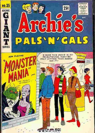 Archie Jughead Monster