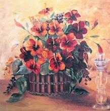 Mi cesta de flores - Autor: Higorca Gómez