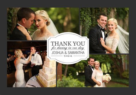 8 Unique Wedding Thank You Card Ideas ? Mixbook Inspiration