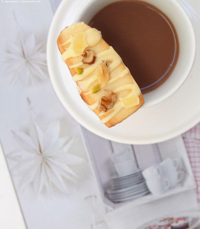 Mit Liebe, Edeka, Shortbread, White Chocolate