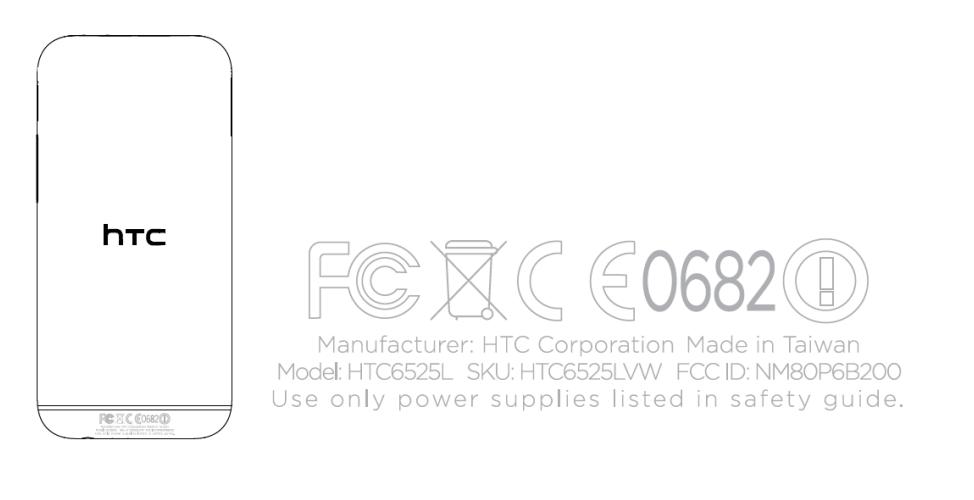 htc one 2014 verizon FCC