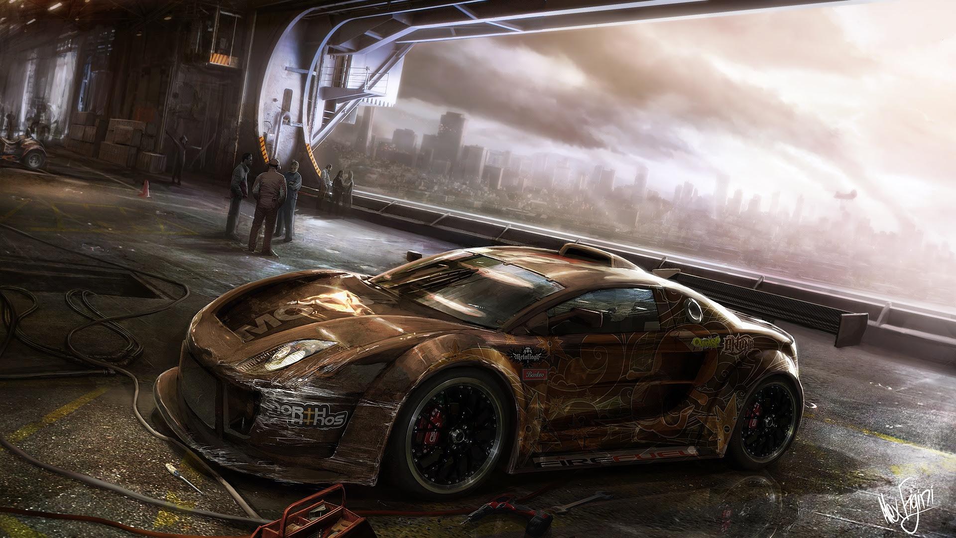 Bmw I8 Concept Car Hd Wallpaper Bighdwalls Automotive Wallpapers Hd