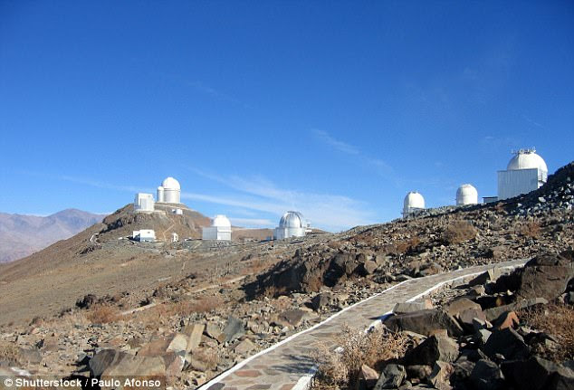 The new study also found that K2-18b has a neighbour, which has been named K2-18c. The data used by the researchers came from the ESO's 3.6-metre (12 ft) telescope at the La Silla Observatory in Chile (file photo)