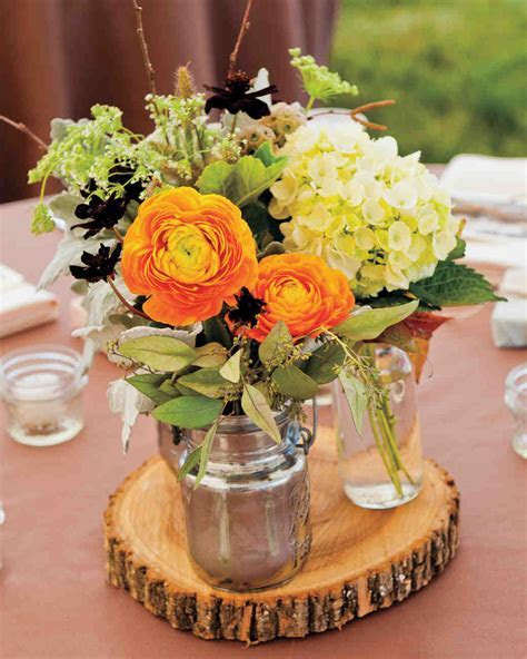 51 Rustic Fall Wedding Centerpieces   Martha Stewart Weddings