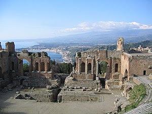 Greek Theater - Taormina, Italy