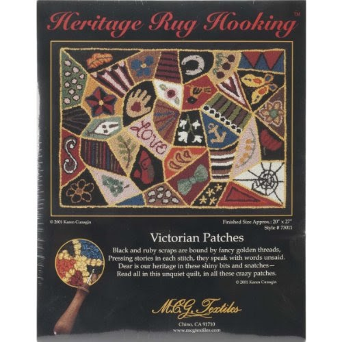 Rug Making Latch Hook: Heritage Rug Hooking Kit 20X27