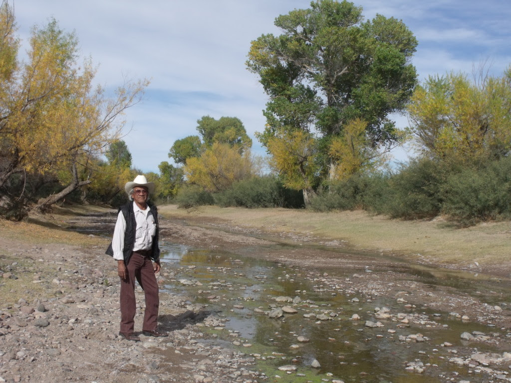Marcelino Alfaro said well levels stopped dropping and the Río San Bernardino flows  even during dry months