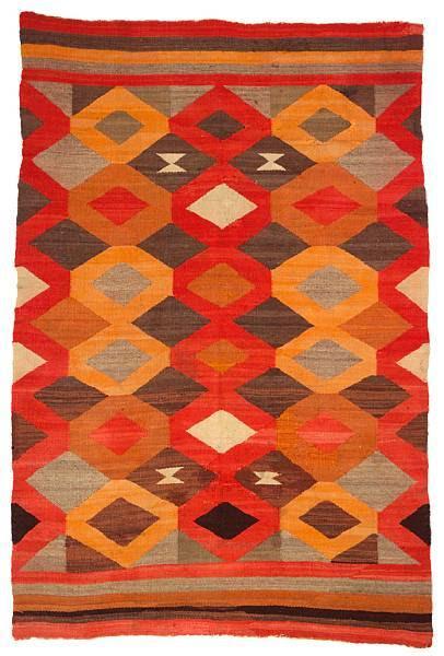 suchasensualdestroyer:  Navajo (Arizona), Transitional Weaving, wool, c. 1930.