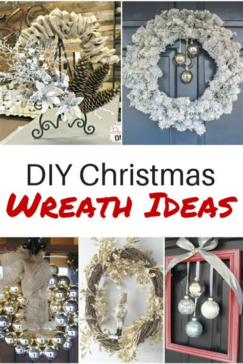 DIY Christmas Wreath Ideas You'll Love   Diva of DIY