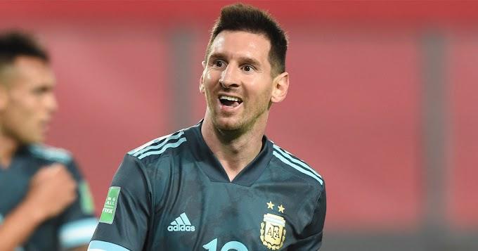 Messi and Argentina continue unbeaten run with away win vs Peru
