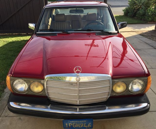1985 Mercedes 300D Turbo Diesel - new paint for sale ...