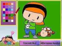 Pepee Ve Kaplumbağa Boyama Oyunu Oyna Pepe Oyunları