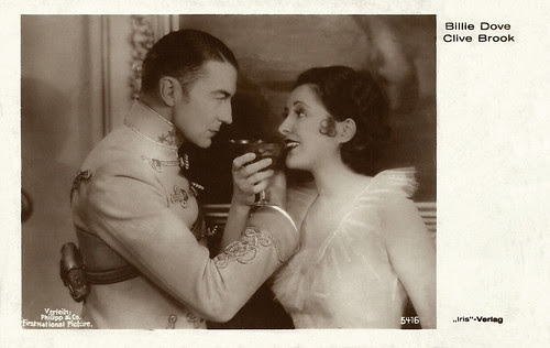 Clive Brook and Billie Dove