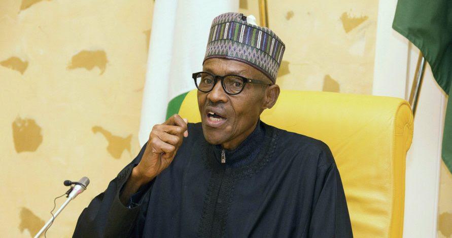 President Muhammadu Buhari on IPOB