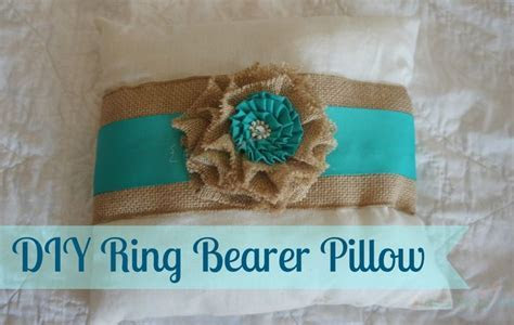 DIY Ring Bearer Pillow from the DIY Country Wedding Series