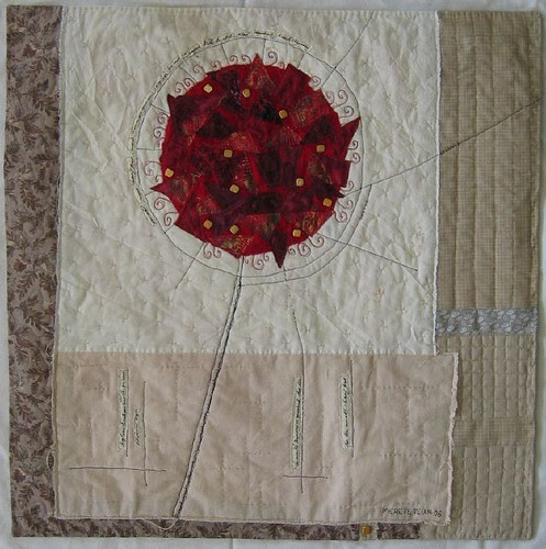 "Quilt ""vinter - rose""~ ""Winter - Rose"""