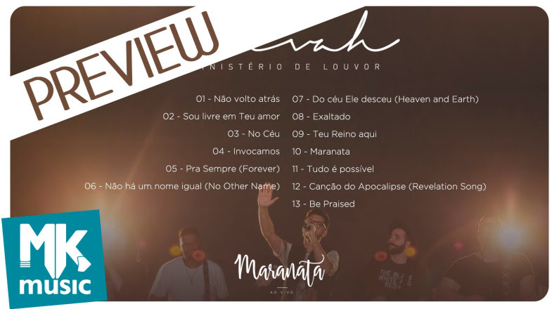 Ministério Avivah - Preview Exclusivo do CD Maranata