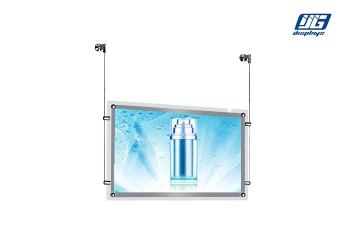 Double Sided Acrylic Crystal Light Box Display 5w Ultra Thin Frame
