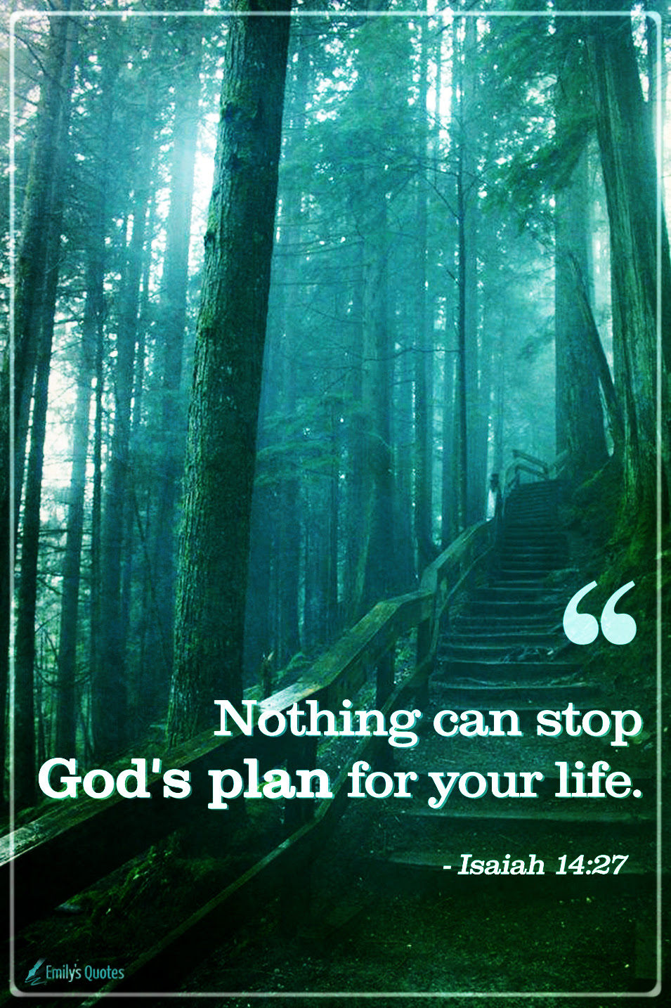 Nothing Can Stop Gods Plan For Your Life Popular Inspirational