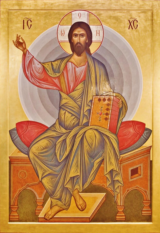 Resultado de imagem para Jesus ensinando Icone