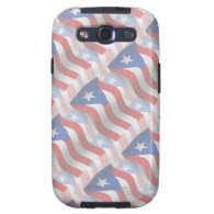 Puerto Rico Waving Flag Samsung Galaxy S3 Covers