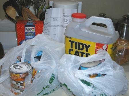 Peapod Delivers LB's Supplies