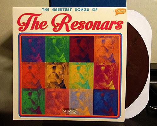 The Resonars - The Greatest Songs Of... - Brown Vinyl (/500) by Tim PopKid